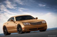 Chrysler Crossfire - How about a Crossfire café racer that looks like a tasty hot cappucino?