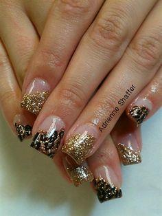 Goldend cheetah - Nail Art Gallery by NAILS Magazine