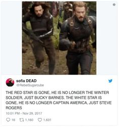 They've had to put their superhero identities above their personal lives and mental health for far too long. It's time to be Bucky and Steve again. (time to live people) Marvel Funny, Marvel Memes, Marvel Dc Comics, Marvel Avengers, Tom Holland, Bucky And Steve, Steve Rogers Bucky Barnes, Dc Movies, Stucky