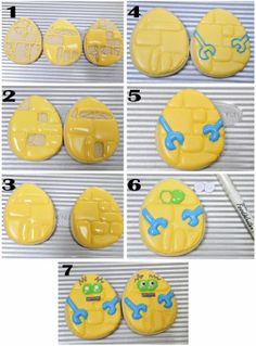 Haniela's: Easter Extravaganza and I, Robot Easter Egg Cookie