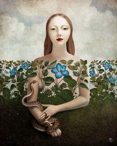 Eva and the Garden por Christian Schloe.