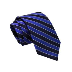 Canterbury Regimental Stripes - Navy / Blue | The Dark Knot