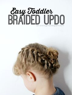 Easy Toddler Braided
