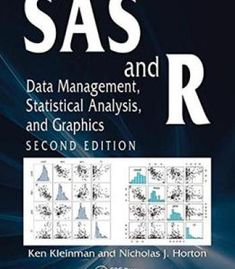 Sas And R: Data Management Statistical Analysis And Graphics Second Edition PDF
