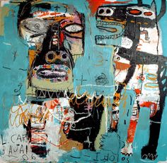 GIRL ON FIRE: Jean Michel Basquiat