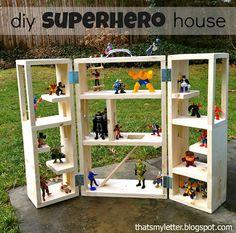 DIY+Super+Hero+Kids+Bedroom, maybe for mario?
