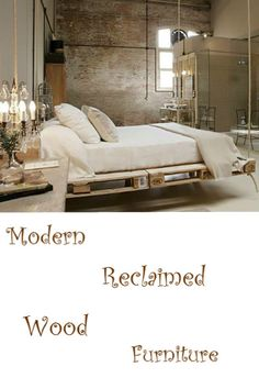 Modern Furniture Made From Reclaimed Wood:http://vid.staged.com/CsGs