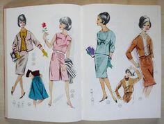 60's library book 34 (skirt), 37 (two pieces). The others I don't have but could get.