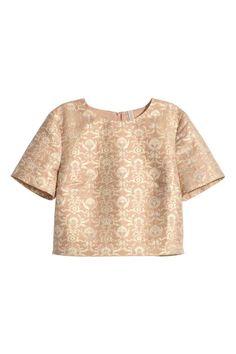 Camisola em brocado | H&M
