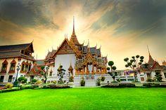 King's Palace, Bangkok, Thailand.