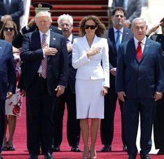 President Donald J. Trump & First Lady Melania Trump Arrives in Israel on Tour~ Prime Minister Benjamin Netanyhu of Israel