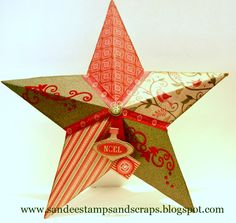 Sandee Stamps and Scraps: My Creations Star CTMH Pear and Partridge
