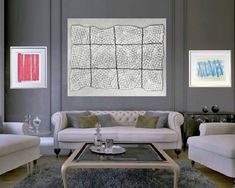 Original Abstract Drawing by Ichiro Yamamoto Sell My Art, Saatchi Art, Concept, Couch, Flats, Canning, The Originals, Canvas, Drawings