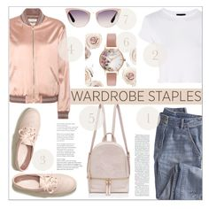 """Wardrobe Staples 2017"" by nans0717 ❤ liked on Polyvore featuring Wrap, Yves Saint Laurent, Topshop, Tom Ford, Hollister Co., Olivia Burton, casual, wardrobeessentials, rosepink and WardrobeStaples"