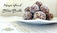 Superfood Bliss Balls (Raw Vegan, Paleo, Dairy & Gluten-Free) - The Urban Ecolife