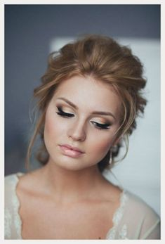Natural Wedding Makeup Ideas To Makes You Look Beautiful 20