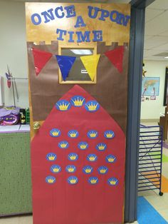Fairy Tale Classroom Decor - Door