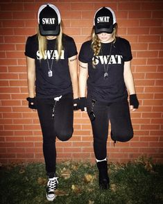 #Halloween #SWAT #team #swatteam #costume #costumes #cops #college #police #handcuffs #dogtag #specialweaponsandtactics #black #hat #hats #gloves #boots #homemade #diy #glasses #sunglasses #school #roommates #roomies #goals #tattoo #tattoos #cool #fun #law #enforcement #outfit