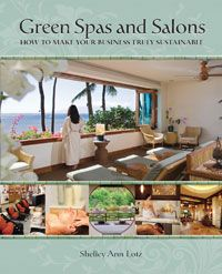 Green Spas and Salons: How to Make Your Business Truly Sustainable (Sustainable Living Programs, 2013) by Shelley Ann Lotz provides information on business practices, sustainability principles and green building. 541-840-9474, www.greenspasandsalons.com