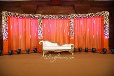 To Make Sure That Setting Up A Reception Stage Decoration Is Not A Hassle! wedding stage decoration bangaloreTips To Make Sure That Setting Up A Reception Stage Decoration Is Not A Hassle! Wedding Stage Decorations, Simple Stage Decorations, Engagement Stage Decoration, Wedding Stage Design, Wedding Reception Backdrop, Marriage Decoration, Wedding Mandap, Backdrop Decorations, Wedding Backdrops
