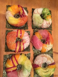 [Homemade] sushi donuts #recipes #food #cooking #delicious #foodie #foodrecipes #cook #recipe #health