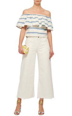 The Destination Edit: Memorial Day—The M'odette Way: Juliana Cala's Weekend Picks: Melanie Wide Leg High Rise Culottes by Citizens of | Moda Operandi