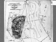 https://flic.kr/p/67UyPB | Map of Arlington National Cemetery | These plans for approaches to the cemetery from Arlington Memorial Bridge were abandoned. National Commission of Fine Arts map of Arilington National Cemetery that shows proposed improvements to the grounds and Memorial Bridge. 1921