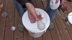 How to build a bucket light, via YouTube.