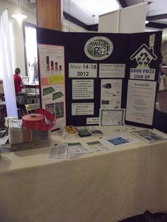 Here is Southern Windsor County Regional Planning Commission's booth. SWCRPC and the Okemo Valley Regional Chamber of Commerce paired up to host this expo!