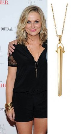 Everyone loves Stella  Dot! Look at our favorite comedian/actress Amy Poehler wearing the Stella  Dot Rebel Pendant! Find it and many other styles on www.stelladot.com/nathaliedembele