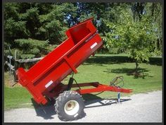 2 ton off road dump trailers | other | London | Kijiji