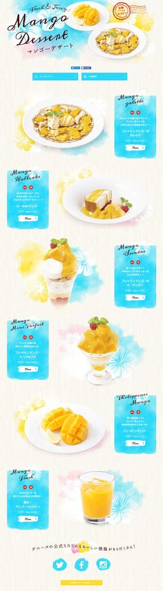 Mango recipe page