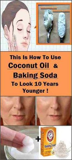 Baking Soda And Coconut Oil Facial Scrub With Essential Oils Which Removes All Kinds Of Wrinkles And Spots In A Week 100% Results