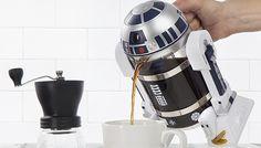 Esta cafeteira com o formato do R2-D2 de 'Star Wars' é genial