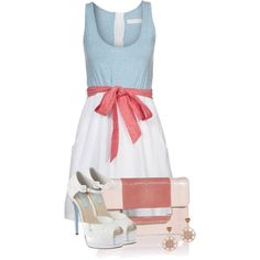 A fashion look from May 2013 featuring Betsey Johnson pumps, Emilio Pucci clutches y Katie Rowland earrings. Browse and shop related looks.