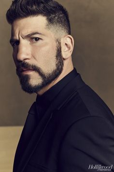 Melissa McBride an Jon Bernthal photographed by Joe Pugliese fot The Hollywood Reporter Moustache, Gorgeous Men, Beautiful People, Melissa Mcbride, The Hollywood Reporter, Portraits, Good Looking Men, Poses, Man Crush