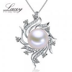 [ 40% OFF ] Fashion Freshwater Pearl Pendant Jewelry Women 925 Silver,white Real Natural Pearl Pendant Fine Jewelry Mother Birthday Gifts