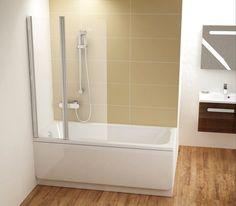 Parawany nawannowe i drzwi RAVAK - komfortowa kąpiel i prysznic Bathtub Doors, Alcove, Bathing, House Design, Bathroom, Architecture, Bath, Washroom, Arquitetura