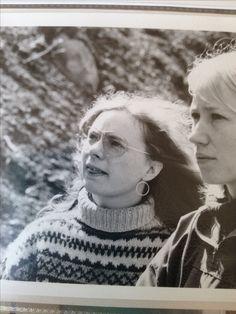 Hannah Ring, 64, Jystrup. Brillemoden og islandsk sweater som det hørte sig til (1977).