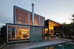 "designalog: "" Residential Architecture: Birkenhead Point House by Crosson Clarke Carnachan Architects.(via * Residential Architecture: Birkenhead Point House by Crosson Clarke Carnachan Architects) "" Residential Architecture, Amazing Architecture, Contemporary Architecture, Interior Architecture, Minimal Architecture, Interior Modern, Modern Contemporary, Auckland, Beautiful Modern Homes"