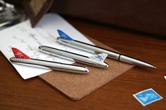 Fisher Chrome Bullet Airplane Space Pen