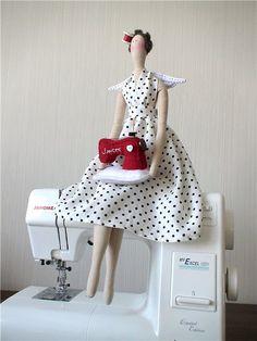 Tilda Ángel de coser con una máquina de coser (clases magistrales, los patrones, las ideas). Discusión sobre LiveInternet - Servicio de Rusia Diarios Online