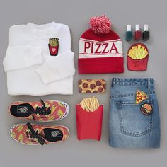 Relationship status: forever hungry 🍟🍕🍔 (shop link in bio) Teen Fashion Outfits, Chic Outfits, Summer Outfits, Girl Outfits, Grunge Outfits, Hipster Shirts, Cool Sweaters, Retro, Daily Fashion