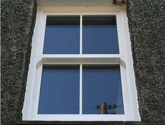 Vertical Sliding Sash uPVC Windows