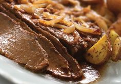 My tips for braising meat and a recipe for Brisket in Wine Sauce