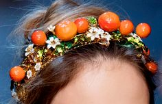 Dolce & Gabbana at Milan Fashion Week Spring RTW 2016 – Headwear