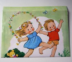 Set of 10 recycled envelopes - Mabel Lucie Attwell by Swirlyarts, via Flickr