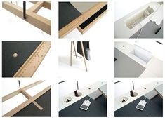 Homework Desk Can be Customized to Workspace Needs | Designs & Ideas on Dornob