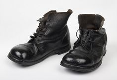 Pair of trench digger's boots