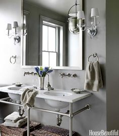 Choose a Washstand With Towel Bars
